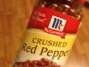 Crushed Red Pepper Flakes, $3.50