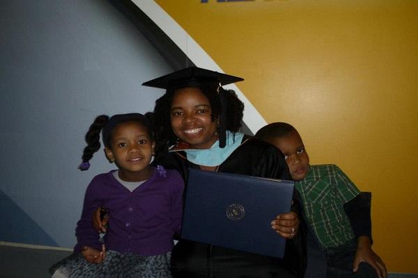 kids at graduation
