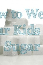 how to wean your kids off sugar