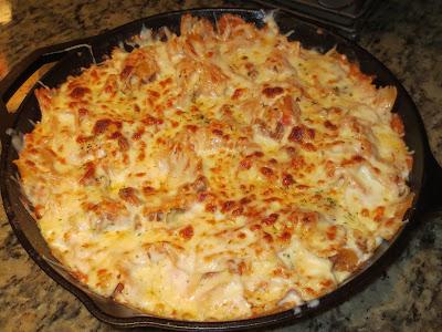 bowtie skillet lasagna