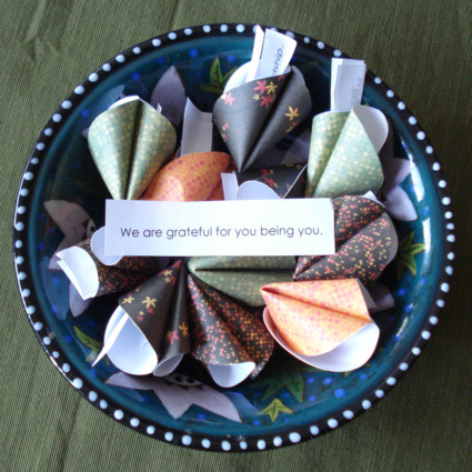 Gratitude cookie craft by CraftingTheSacred.com