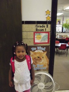 ayanna first day of school