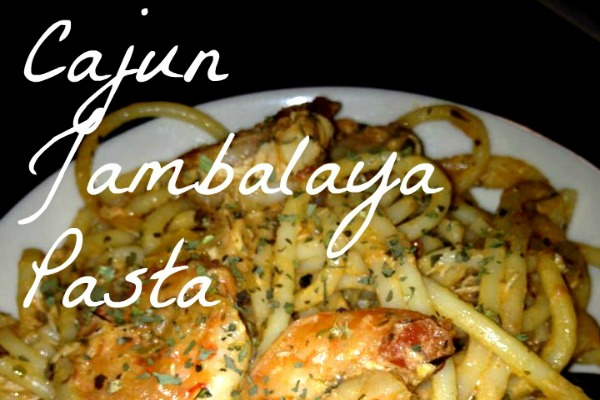 In The Kitchen Cajun Jambalaya Pasta With Shrimp Chicken And