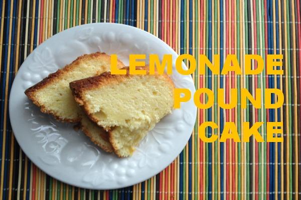 lemonade pound cake