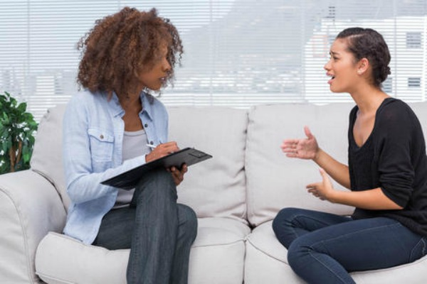 black woman in therapy - what therapy is really like