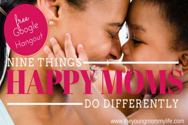 "YML Live:  ""Nine Things Happy Moms Do Differently"""