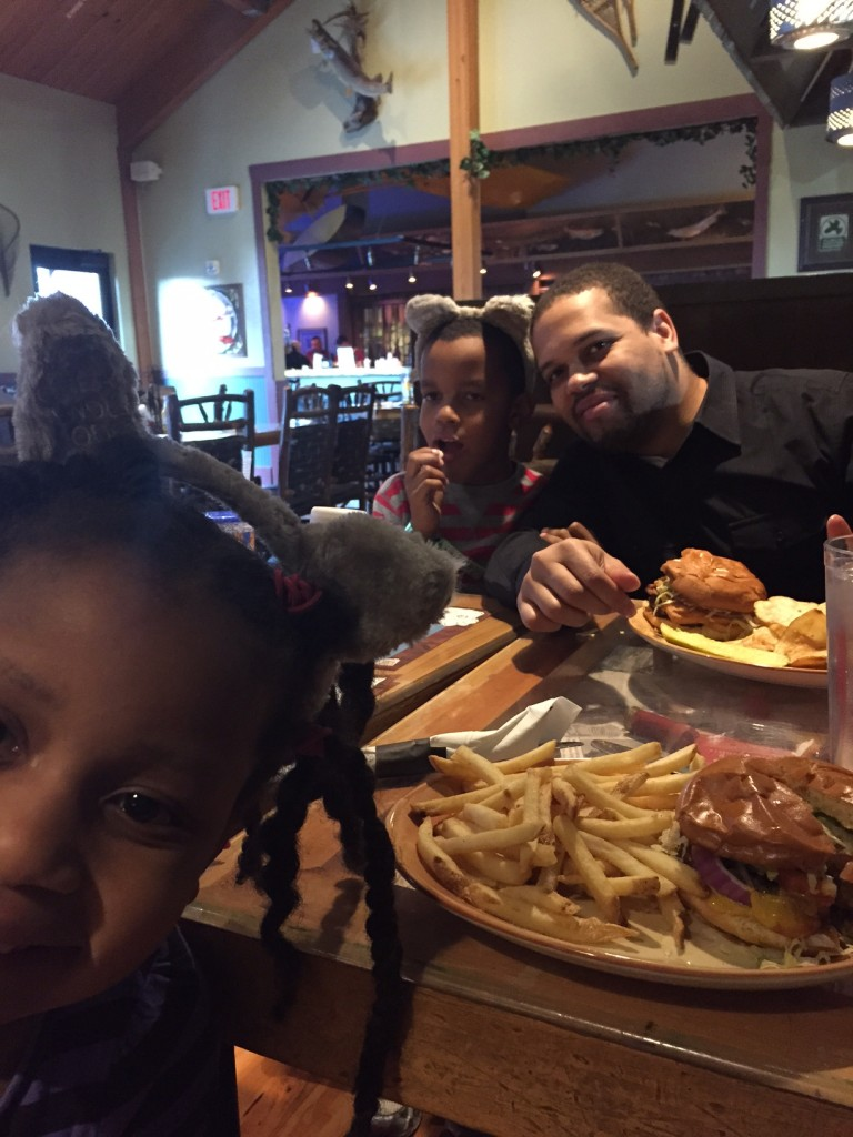 Dinner at Great Wolf Lodge in Sandusky