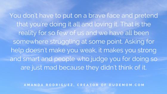 SHE INSPIRES - Amanda Rodriguez' advice for stressed mothers