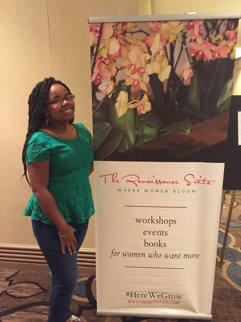 Tara Jefferson at the 2015 self-care retreat
