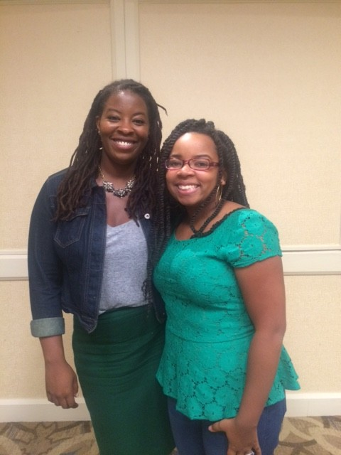 Esther Boykin and Tara Jefferson at the 2015 Self-Care Retreat